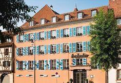 Hotel le Colombier.  Colmar, France - Alsace