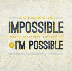 It is possible!!