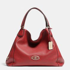 COACH Designer Purses | Edie Shoulder Bag In Leather