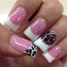 I dont like the tip this wide but love the pink bed and white tips....love love it