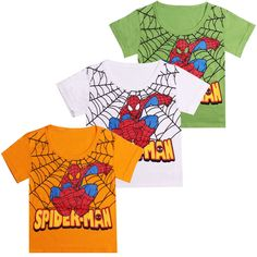Brand t shirt Kids Boys Baby Girls tees Spiderman Hero T-shirt short Sleeve Tops cotton children Clothes kids Clothing tops♦️ SMS - F A S H I O N 💢👉🏿 http://www.sms.hr/products/brand-t-shirt-kids-boys-baby-girls-tees-spiderman-hero-t-shirt-short-sleeve-tops-cotton-children-clothes-kids-clothing-tops/ US $2.67
