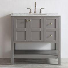 "Caldwell 36"" Single Bathroom Vanity Set"