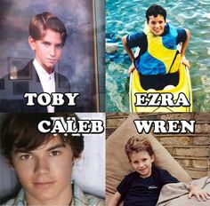 PLL guys when they were young
