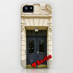Love Berlin doors 1 iPhone Case by Berlin Kunst - $35.00