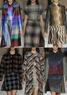 Milan Fashion Week – Marco De Vincenzo Autumn/Winter 2014/2015 – Print Highlights – Part 2 catwalks