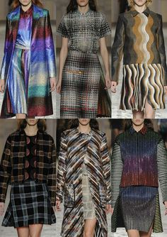 Milan Fashion Week – Marco De Vincenzo Autumn/Winter 2014/2015 – Print Highlights – Part 2 catwalks