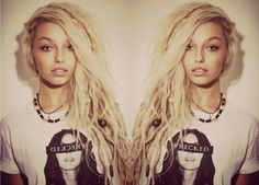 dread locks. I have always wanted them. I think maybe one day. I'd like it to look like these!!
