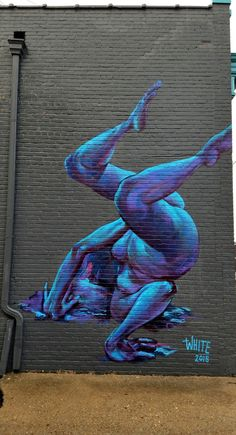 Richmond, VA - Street Art & Graffiti.  There is an unexpected cache of beautiful murals in Richmond.  This one from the artist Taylor White  @taylurk from the 2015 Richmond Mural fest - Apparently there are 60-100 murals in the city and I look forward to hunting them down.  Original Photography by R. Stowe.