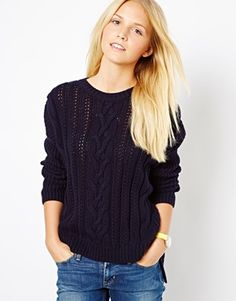Image 1 of ASOS Aran Sweater