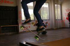 Me Skateboarding again.
