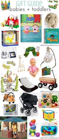 A gift guide just for the littles! Happy Holidays from www.radmomcoolkid.com