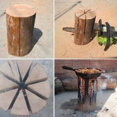 Survivalist: cooking without electricity .....