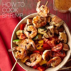 Watch this video to learn how to cook shrimp on the stove in a pan. This healthy seafood dinner will become one of your family's favorite weeknight meals, and you'll love how easy the recipe is to follow.