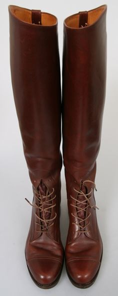 english riding field boots | ... DEHNER Brown Leather Equestrian RIDING Horse FIELD Tall English Boots