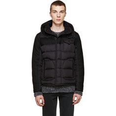Moncler - Black Quilted Ryan Jacket
