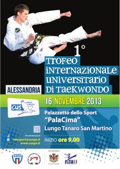 1° Trofeo Internazionale Universitario di #Taekwondo  https://www.facebook.com/events/1375305469381993/?ref_newsfeed_story_type=regular