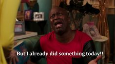 The Return from Spring Break as Told By Titus Andromedon