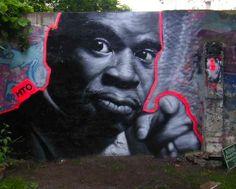 Maceo Parker, Graffiti Art by MTO - Berlin, Germany #graffiti #art #streetart #graffitart #MTO #berlin #maceoparker #maceo #parker
