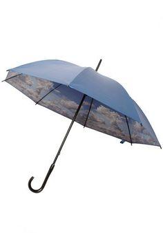 Blue Skies Above Umbrella | Mod Retro Vintage Umbrellas | ModCloth.com - StyleSays