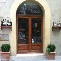 Wine shop, Pienza