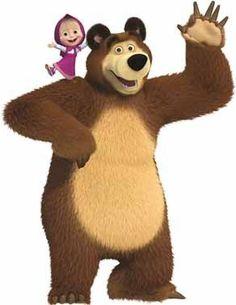 Display Masha e o Urso Cute Cartoon Pictures, Cartoon Pics, Birthday Party Decorations, Party Themes, Marsha And The Bear, Pikachu Drawing, Bear Party, Bear Birthday, Disney Coloring Pages