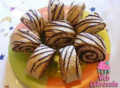 Naples roll without baking with recipe picture- Nápolyis tekercs sütés nélkül recept képpel Naples roll without baking with recipe picture - Pastry And Bakery, Pastry Cake, Wonderful Recipe, Something Sweet, No Bake Desserts, Naples, I Foods, Nutella, Rolls