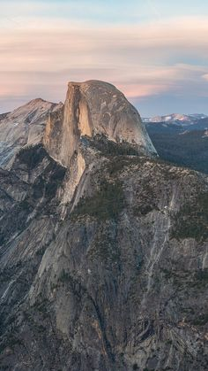 iPhone 6 Plus Glacier Point at Sunset Yosemite Wallpaper