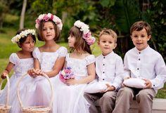 Blumenmädchenkleider