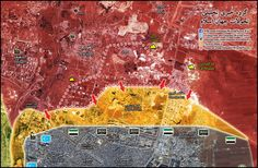 PROGRESS IN WEST AND EAST GHOUTA IS GOING UNNOTICED WHILE ALL EYES ON ALEPPO. NEWS & MAPS FROM SELECTED BATTLEFRONTS.