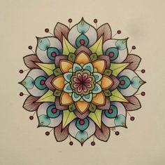 April Mandala #mandala #copic #kristinacastagnola