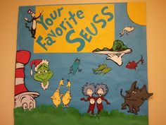 Read Across America Week - Our Dr. Seuss series:  Could do a school-wide graph?