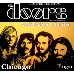The Doors Auditorium Theatre Chicago 1970 - Australia 2011 - NSU Records #487