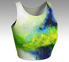 Womens Crop Top #silkscarf #leggings #yoga #beanies #capris #baby #shorts #fashion #runway #vogue #lifestyle #artist #art #originalpaintings #fineart #streetart #abstract #modern #contemporary #exercise #workout #colorful #ipad #gymshorts #gym #fitness #graphic #athletes #running #jogging #colorful #womens #modernart #unique #Ecofriendly #spandex #healthy #activewear #graffiti #popart #fashionista #instyle #streetartist #elle #NYC #Paris #london #LA #chicago #italy #france #boston