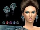 Guardian Earrings  Found in TSR Category 'Sims 4 Female Earrings'