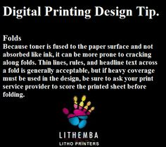 Digital printing can present some unique challenges when it comes to design. Using proper techniques, digital projects can be smart, creative and effective.