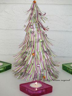 déco de Noël à faire soi-même en papier : minis sapins