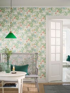 Spring Garden Wallpaper by Boras Tapeter | Jane Clayton & Company