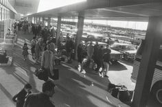 Garry Winogrand's Airport series - Untitled, 1966, gelatin-silver print