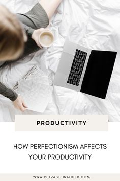 Perfectionism has a huge impact on your productivity and your ability to get things done. And it can also negatively affect your business growth. When perfectionism is holding you back from putting yourself out there, you can't grow and scale your business and you'll never see results. #growyourbusiness #mindset #perfectionist #femaleentrepreneur First Instagram Post, Starting A Podcast, Time Management Tips, Success Mindset, Online Entrepreneur, Business Advice, Growing Your Business, Getting Things Done, Petra