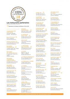 Bordeaux Fête le Vin 2016 : 100% Vins de Bordeaux dans plus de 50 restaurants bordelais