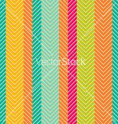 Herring bone pattern vector. bright bold color palette