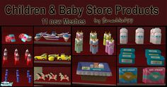simaddict99's Toy & Baby Store Products