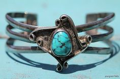 Vintage Signed Navajo Sterling Silver and by Yourgreatfinds
