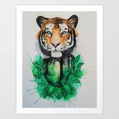 """Home"" Tiger Version by Jonna Lamminaho"
