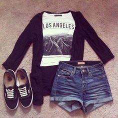 Daily New Fashion : Cute Teenage Outfits