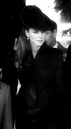 Kate Middleton..love this enough to repin it!  REminds me of an older vintage film star in B & W !