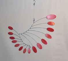 Mobile Art - Kinetic Mobile Sculpture - Calder Style