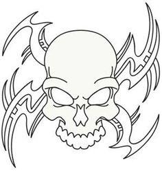 Tribal Skull_image