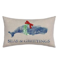 Merry Whale from Eastern Accents, Holiday whale, ocean holidays