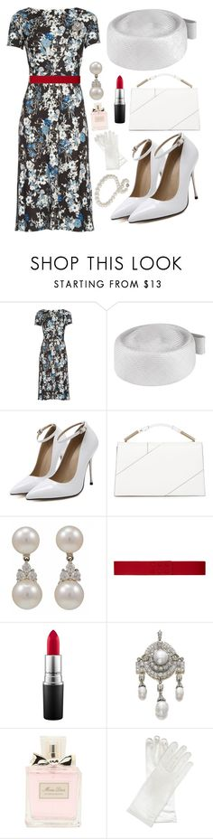 """""""Pillbox Collection"""" by theprissydiary ❤ liked on Polyvore featuring Erdem, Whiteley, Jason Wu, Tiffany & Co., Paule Ka, MAC Cosmetics, Christian Dior, Wolford and Blue Nile"""